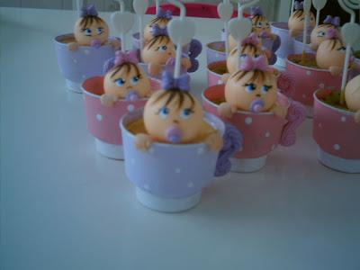 Decoração para chá de bebê - lembrancinhas