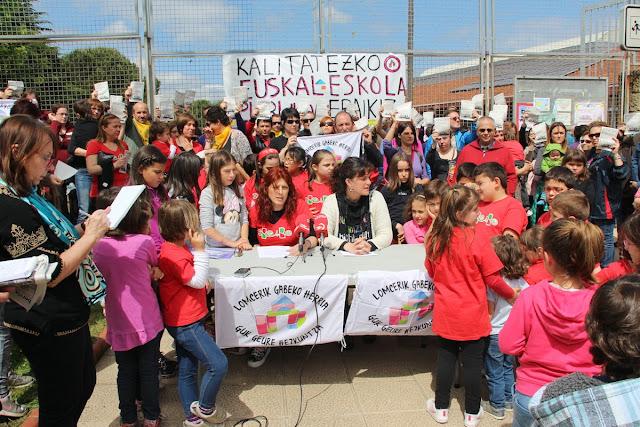 Decenas de familias anuncian su plante a los exámenes de 3.º de Primaria