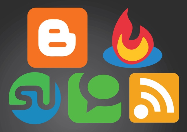 35+ Free Vector Social Media Icons Set Download
