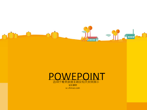 A_03 PowerPoint Template (Cute)