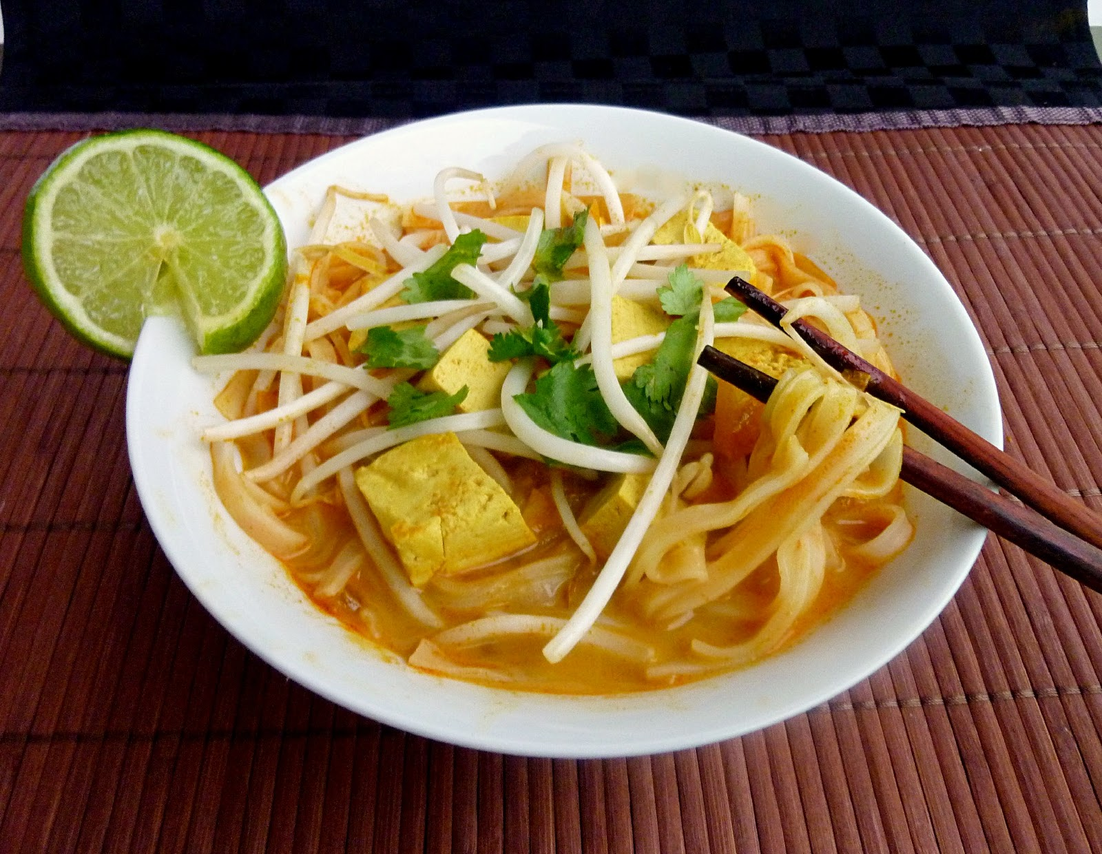 Thai Red Curry With Tofu & Vegetables Recipe — Dishmaps