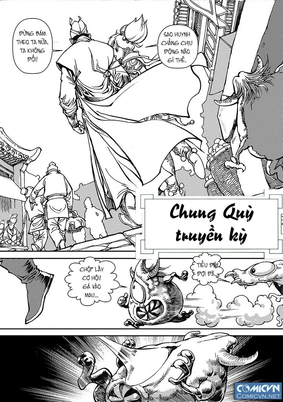 Chung Quỳ Truyền Kỳ Chapter 38 - Hamtruyen.vn