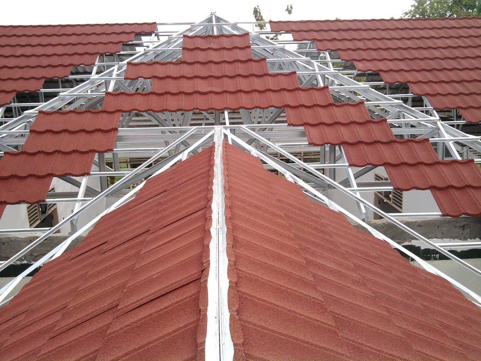 rangka atap baja ringan genteng metal