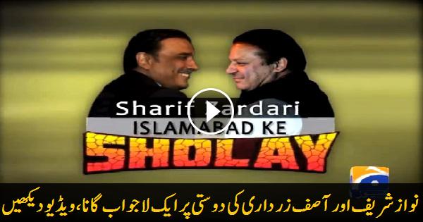 Nawaz-Zardari Friendship by Geo News