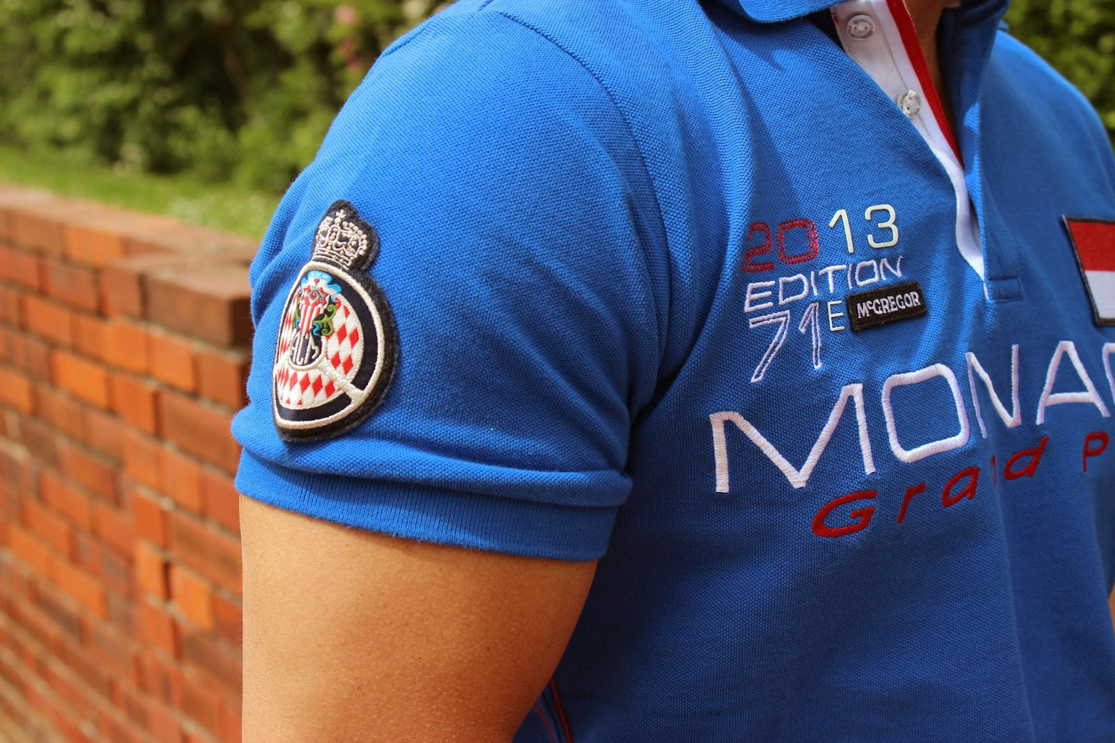 Grand Prix MONACO tenue Officielle MCGREGOR