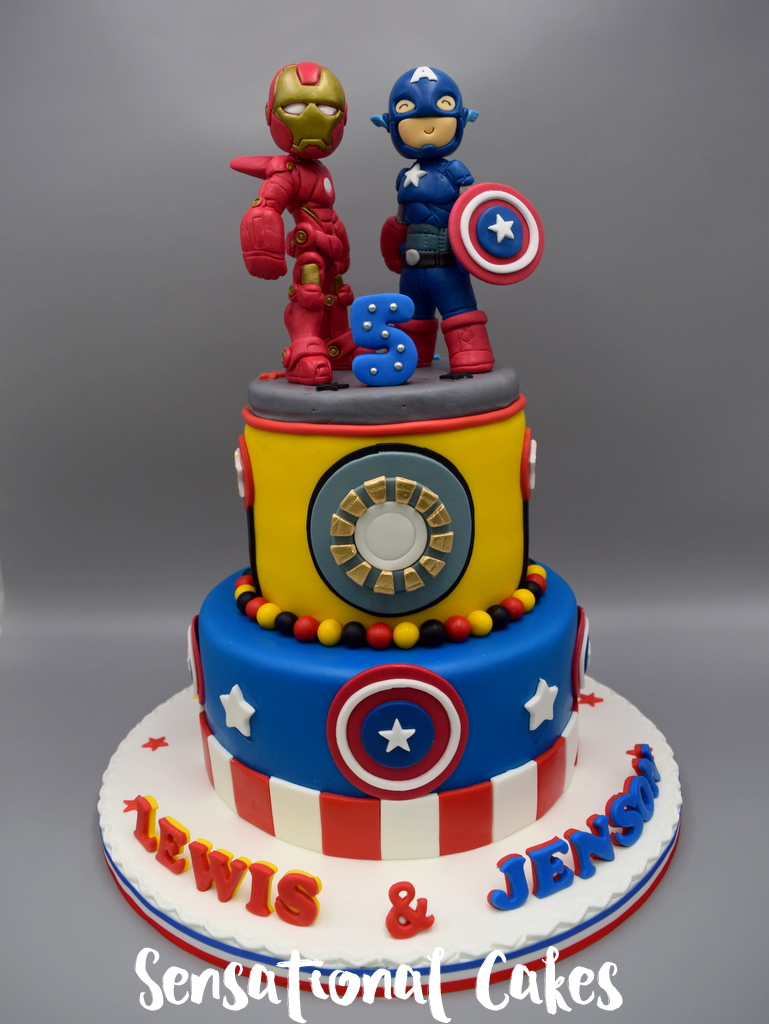 Captain America Birthday Cake Singapore