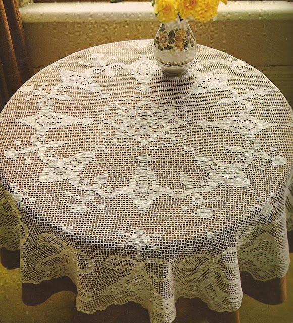 Tapete Redondoo a Crochet