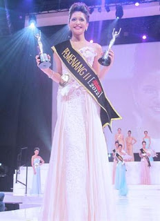 Sere Kalina Florencia Sitorus The Best Catwalk Miss Indonesia 2015
