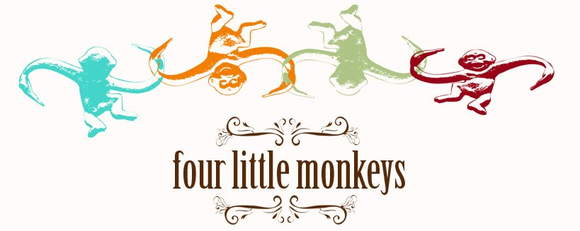 Four Little Monkeys