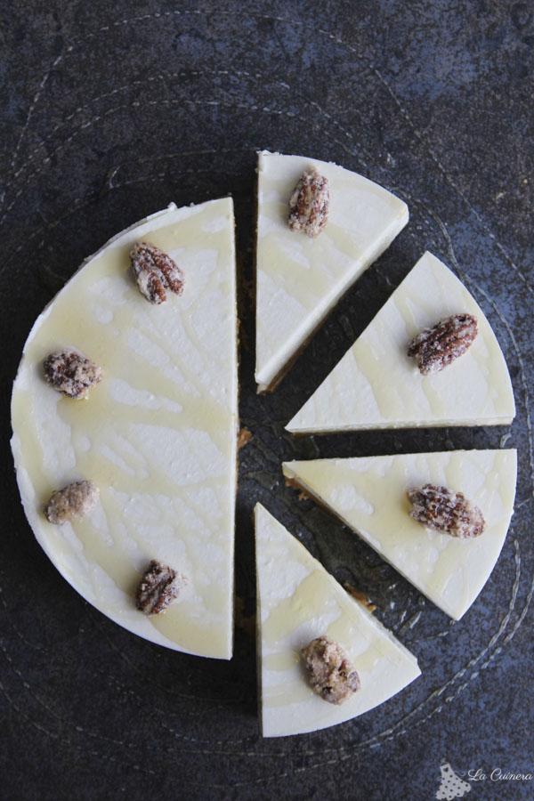 Receta tarta mousse de mel y mató