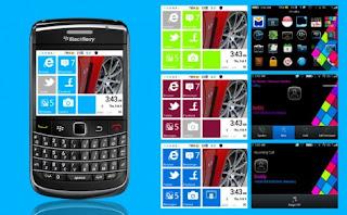 Theme Nokia Lumia Untuk Blackberry