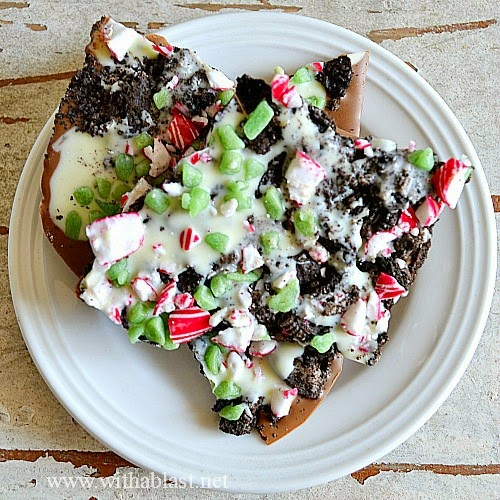 5 favorite Christmas Wonderful Links double peppermint Oreo bark
