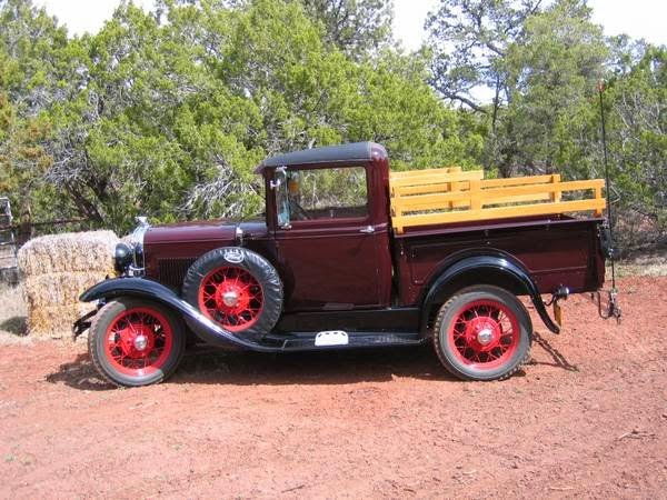 1931 Late Model A Ford Pickup Auto Restorationice