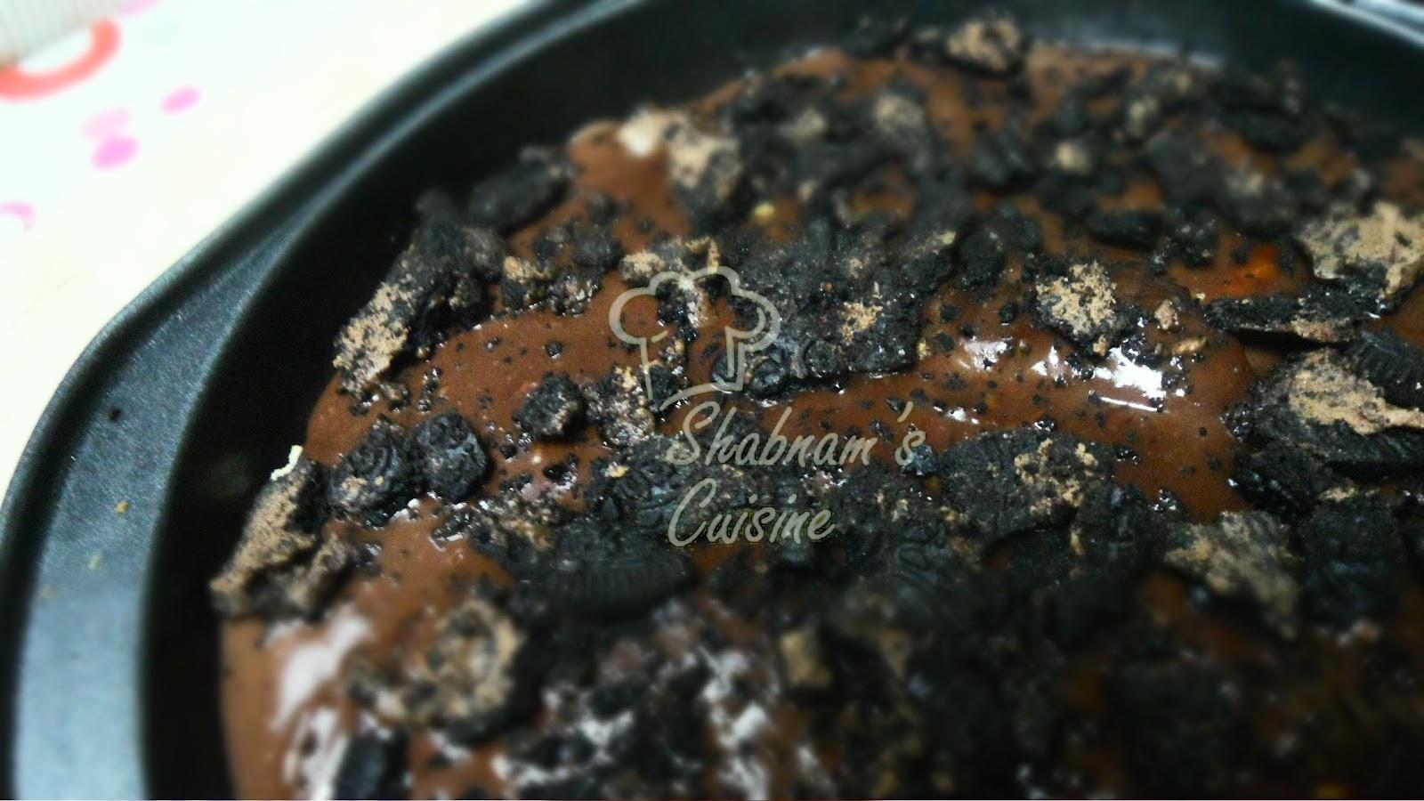 Oreo Chocolate Pudding