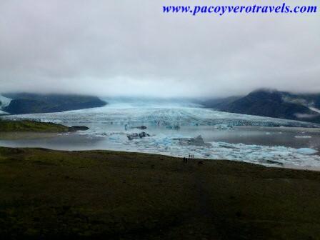 Glaciar de Fjallsarlon en Islandia