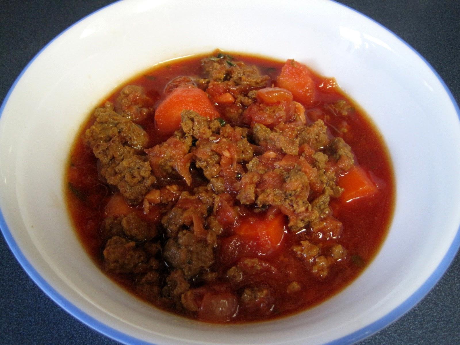AIP Autoimmune Protocol chili recipe, nightshade free