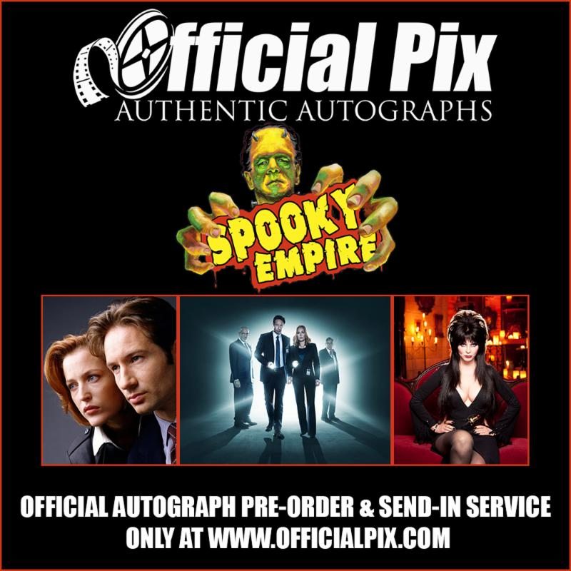 Spooky Empire send-ins and pre-orders available through Official Pix! Deadline Oct. 22!