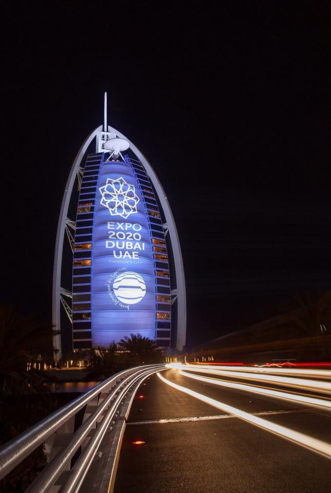 Expo 2020 Dubai, UAE: Burj-Al-Arab supports Expo 2020 Dubai UAE