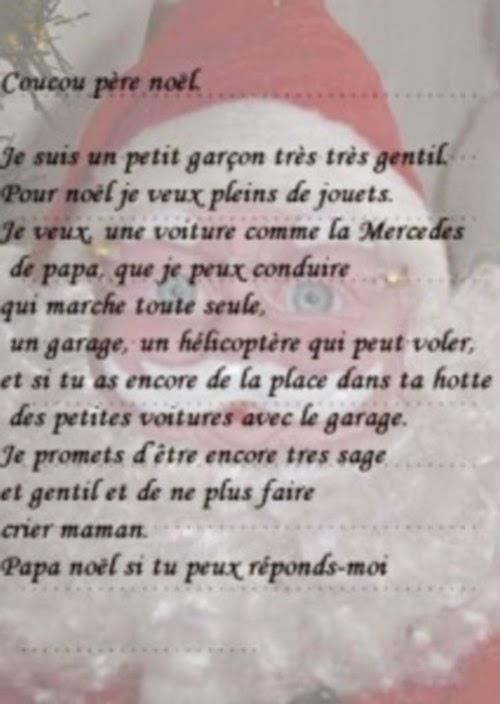 Top du meilleur meilleure lettre au p re no l - Coucou pere noel ...