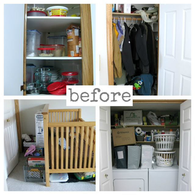 Project Eliminate Wrap-Up // before and after minimizing