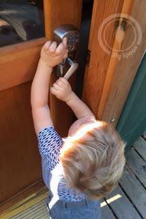 getting into locked yurt