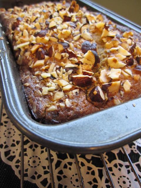 Chocolate Hazelnut Banana Bread