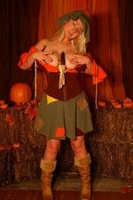 Sexy Pattycake Sexy Halloween Scarecrow