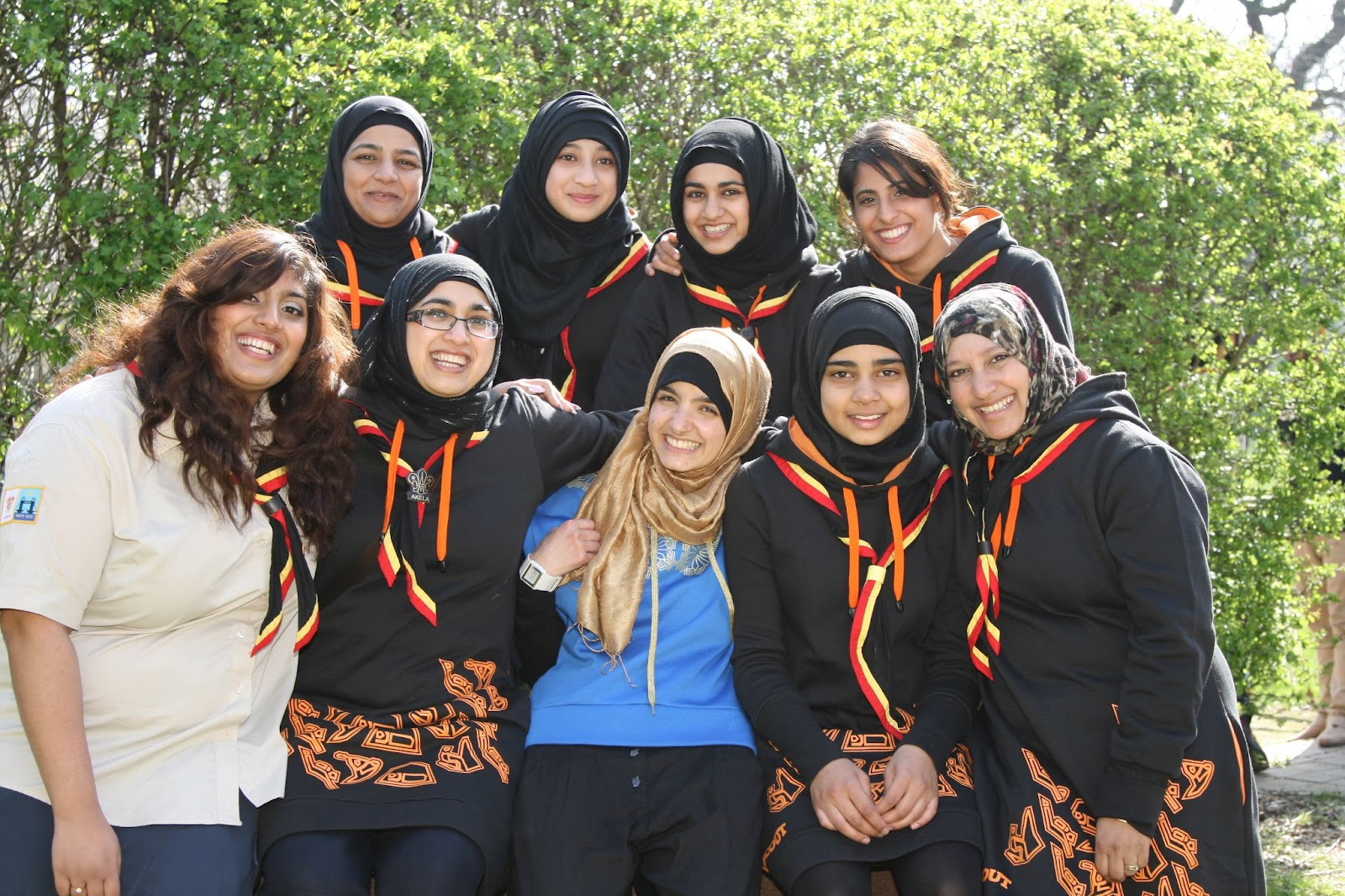 The Hijab For UK Scout Uniform