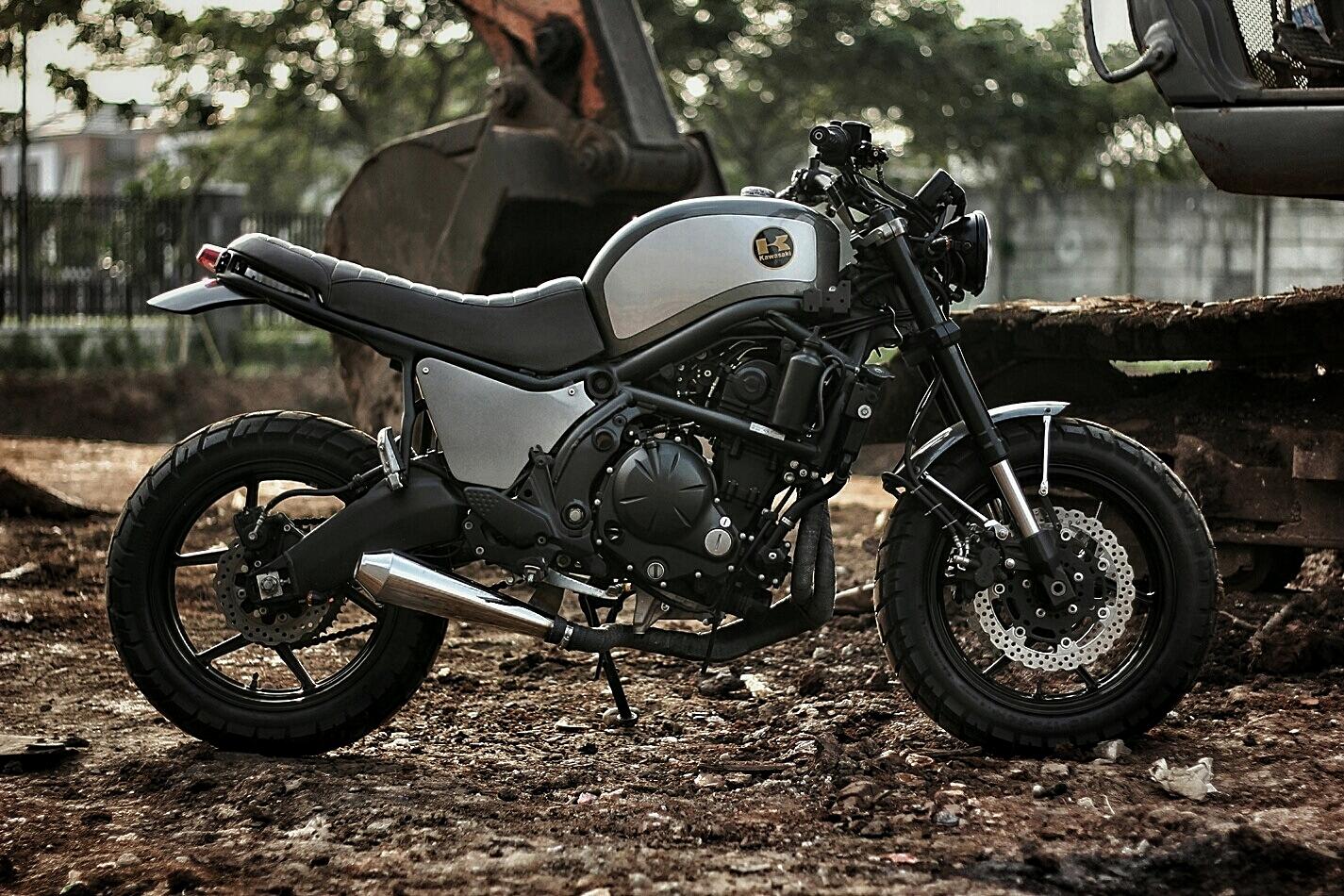 Kawasaki Versys 650 Scrambler By Studio Motor