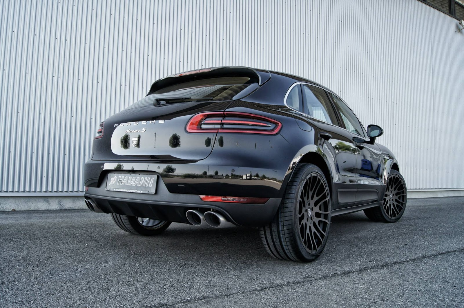 Hamann Shows Five Alloy Wheels For New Porsche Macan