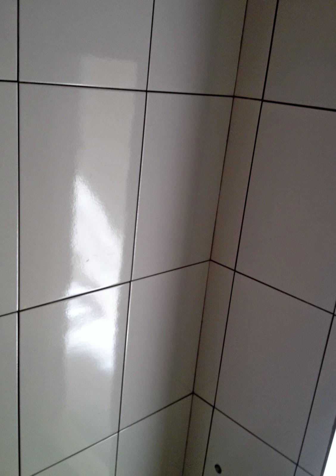 Eu pesquisei e achei o porcelanato bege da marca Casa Nova marca  #474138 1128x1600 Azulejo Banheiro Leroy