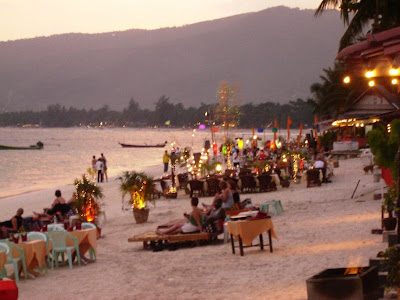Chaweng beach on Ko Samui, Thailand