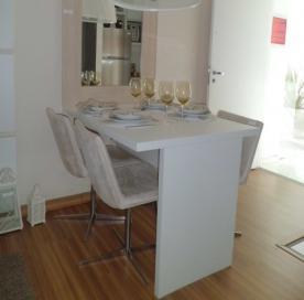 Ideias para um apartamento pequeno casa e reforma for Mesas para apartamentos pequenos