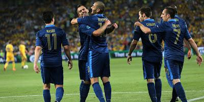 Prediksi Skor Bola Swedia vs Prancis 20 Juni 2012