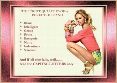 Qualities of a good husband material