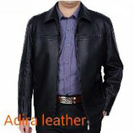 Jaket kulit asli domba elegan