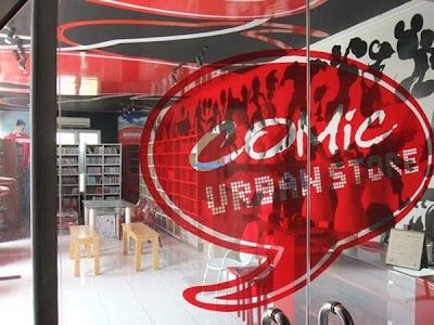 Comic Cafe - Perpustakaan Tersembunyi