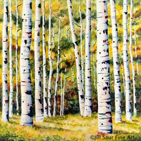 buy summer aspen painting