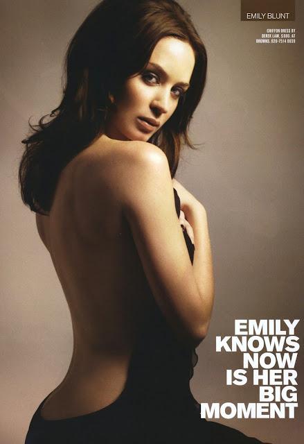 British Actress Emily Blunt