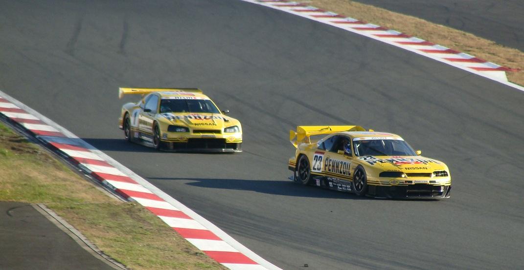 JGTC, Super GT, Nissan Skyline GT-R, RB26DETT, wyścigi, sport, japońskie samochody