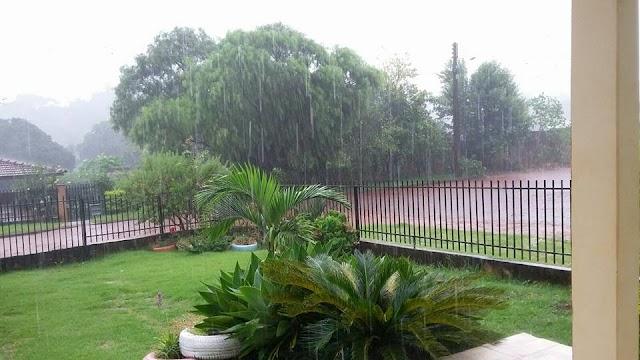 Chuva chega em um bom momento em Roncador