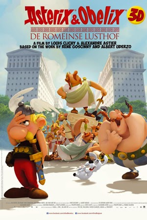 Asterix: The Land Of The Gods 2015 poster