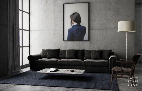 wohnzimmer blau: 100 wandfarben ideen für eine dramatische ... - Wohnzimmer Grau Blau