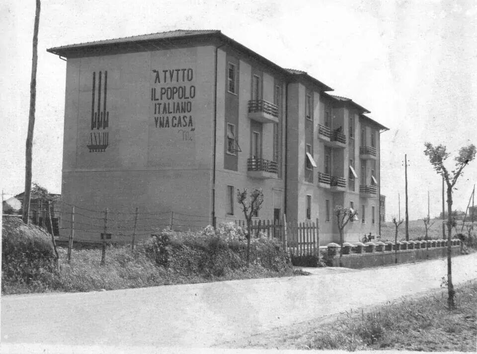 Motti dell 39 italia fascista for Architettura fascista in italia