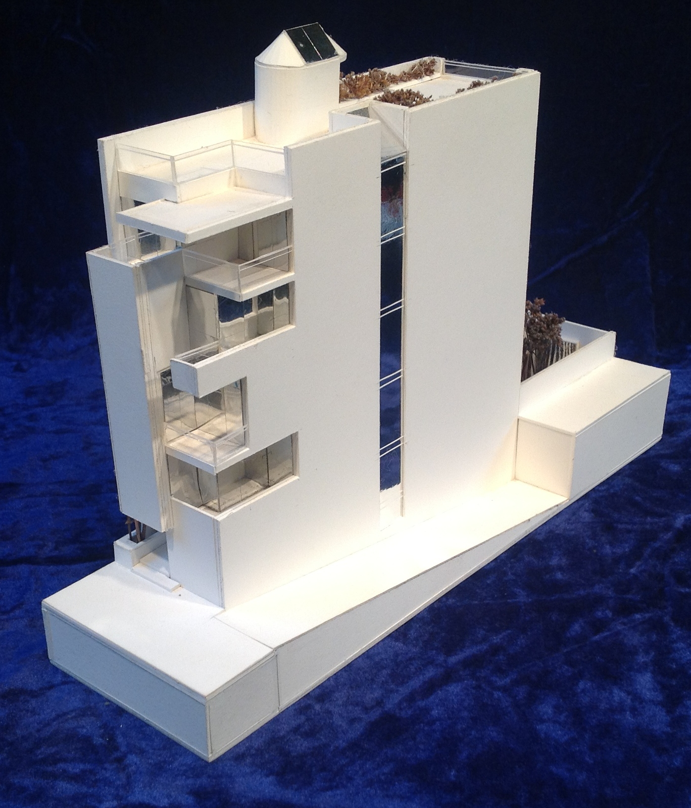 Architectural Model By Gary Lawrance, AIA Lawrance Architectural  Presentations Of A New York City Townhouse Designed By Preston T. Phillips  Architect, ...