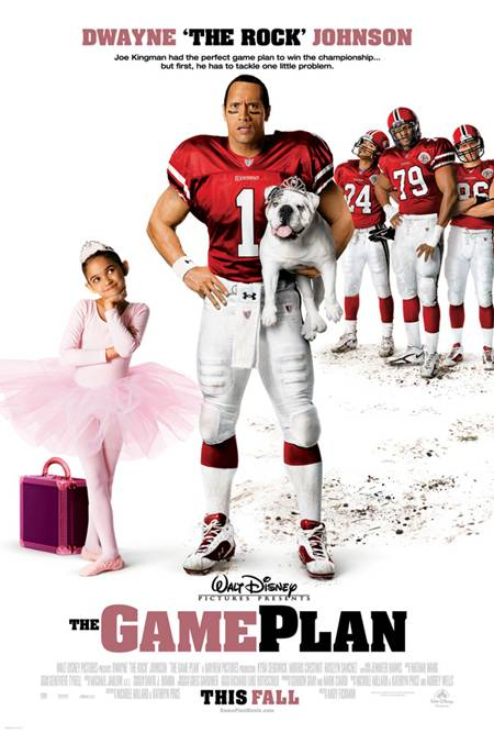 The Game Plan DVD Full Español Latino