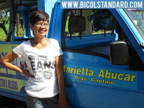 BICOL STANDARD: Punong Barangay Marietta Abucar - Baliuag Viejo, Minalabac, Camarines Sur