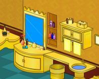 Golden Bathroom Escape Walkthrough