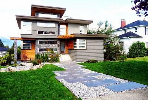 ide warna eksterior rumah