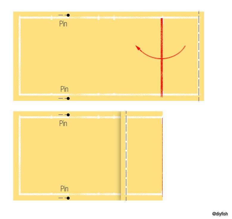 Make Adjustable Fabric Book Cover ~ Tutorial no adjustable fabric book cover d i y